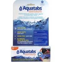 Aquatabs Water Purification Tablets 49 mg for 1L