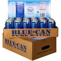 Blue Can 50 Year Shelf Life Water