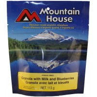 Mountain House Granola with Milk & Blueberries - One Serving