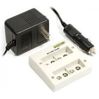Maha PowerEx MH-C490F-DCW Worldwide 9-Volt Battery Charger with Car Adapter