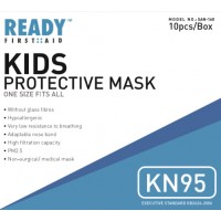 Kids KN95 Protective Mask 4 Layer Pack of 10