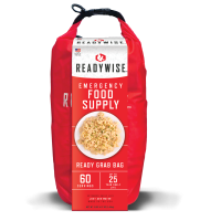 ReadyWise 7 Day Emergency Food Grab and Go Dry Bag - 60 Servings