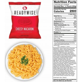 ReadyWise 72 Hour Emergency Food & Drink Supply - 32 Serving