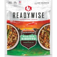 ReadyWise Backcountry Wild Rice Risotto with Vegetables - 2.5 Serving