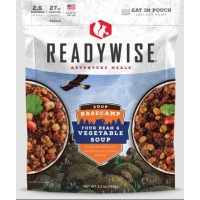 ReadyWise Basecamp Four Bean & Vegetable Soup - 2.5 Serving