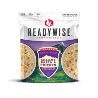 ReadyWise Crest Peak Creamy Pasta & Chicken - 2.5 Serving
