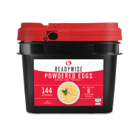 ReadyWise Emergency Freeze Dried Powdered Eggs - 144 Serving