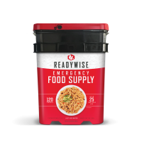 ReadyWise Entree Only Emergency Food Supply Bucket - 120 Serving