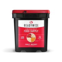 ReadyWise Freeze Dried Fruit Bucket - 120 Serving