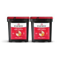 ReadyWise Freeze Dried Fruit Bucket - 240 Serving