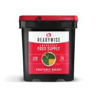 ReadyWise Freeze Dried Vegetable Bucket - 120 Serving