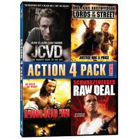 Reward Item: Action 4 Pack - Vol 1:  JCVD / Lords of the Street / Among Dead Men / Raw Deal DVD